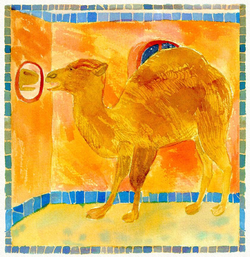 Douglas Florian. Camel