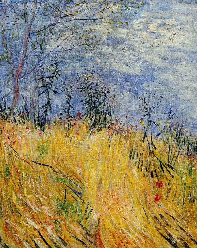 Edge Of A Wheat Field With Poppies By Vincent Van Gogh History