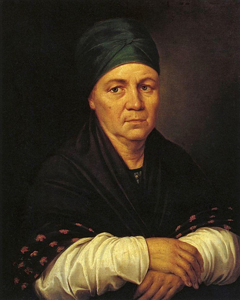 Григорий Иванович Угрюмов. Портрет А. М. Серябряковой