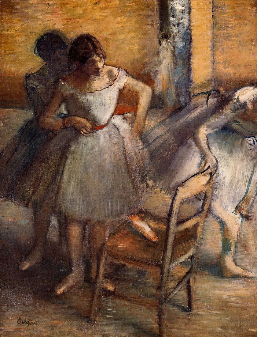 Edgar Degas. Ballerina