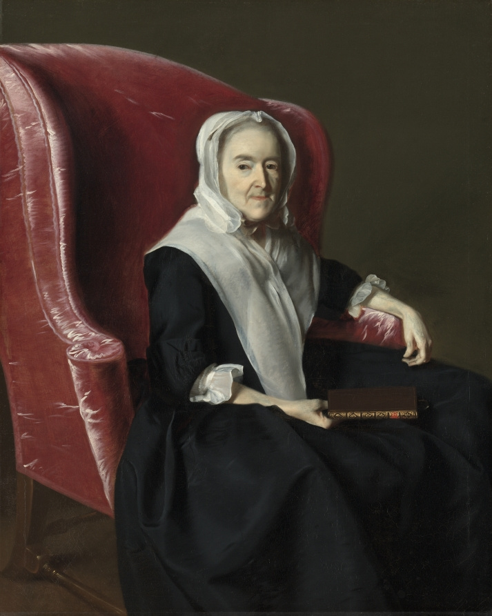 John Singleton Copley. Anna Dummer Powell (first version)