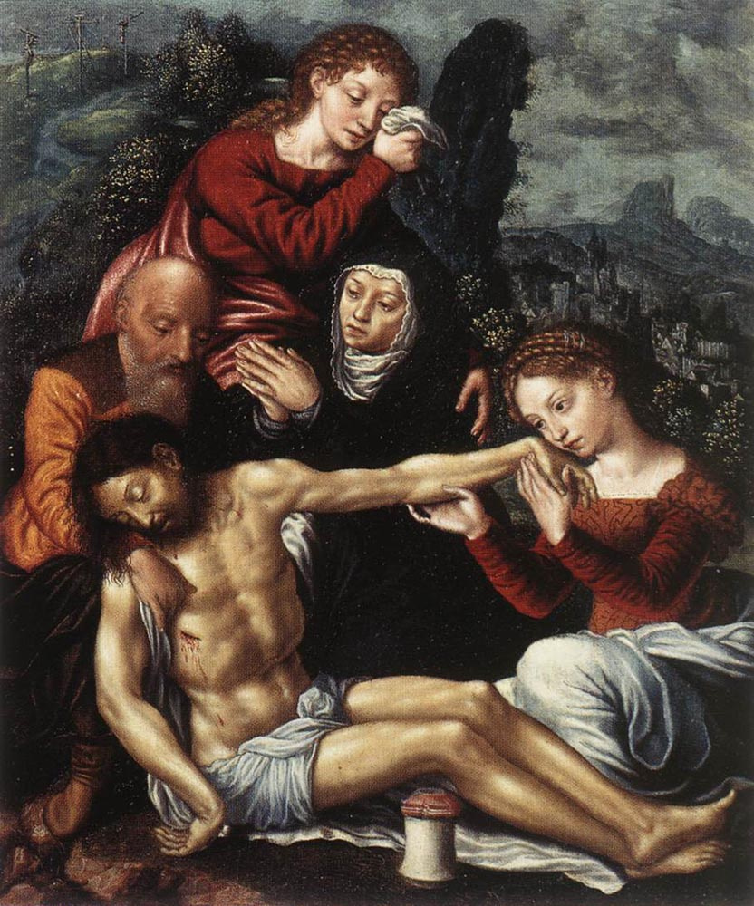 Ян Сандерс ван Хемессен. Снятие с креста