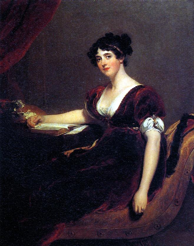 Thomas Lawrence. Mrs. Isaac Cuthbert
