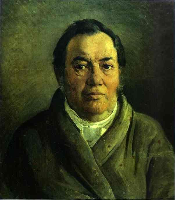 Николай Николаевич Ге. Портрет отца художника Николая Осиповича