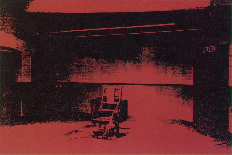 Warhol Electric Chair