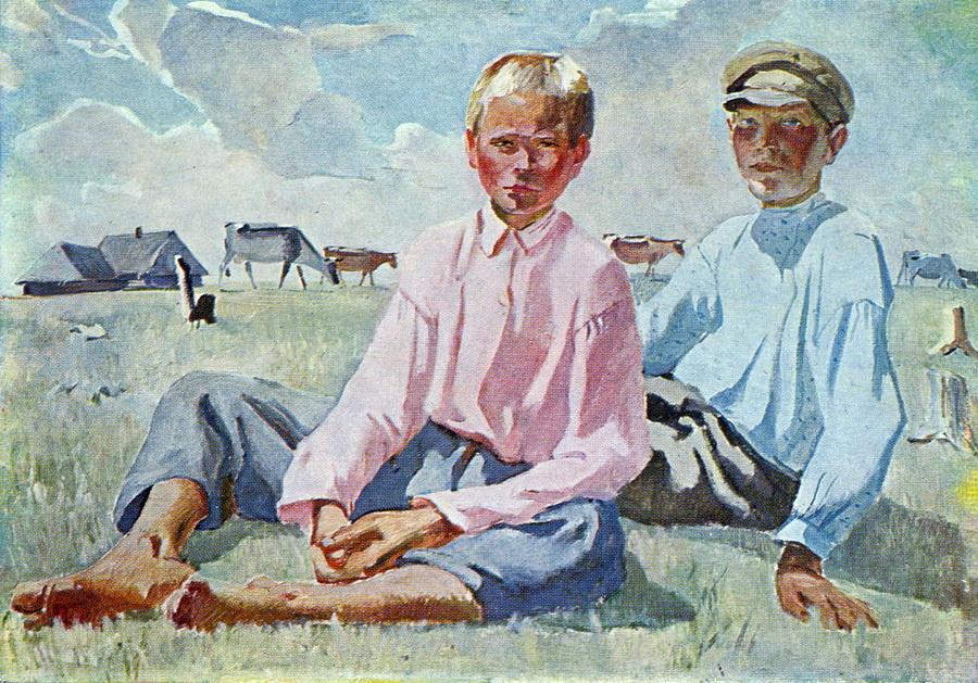 Александр Александрович Дейнека. Отдыхающие дети