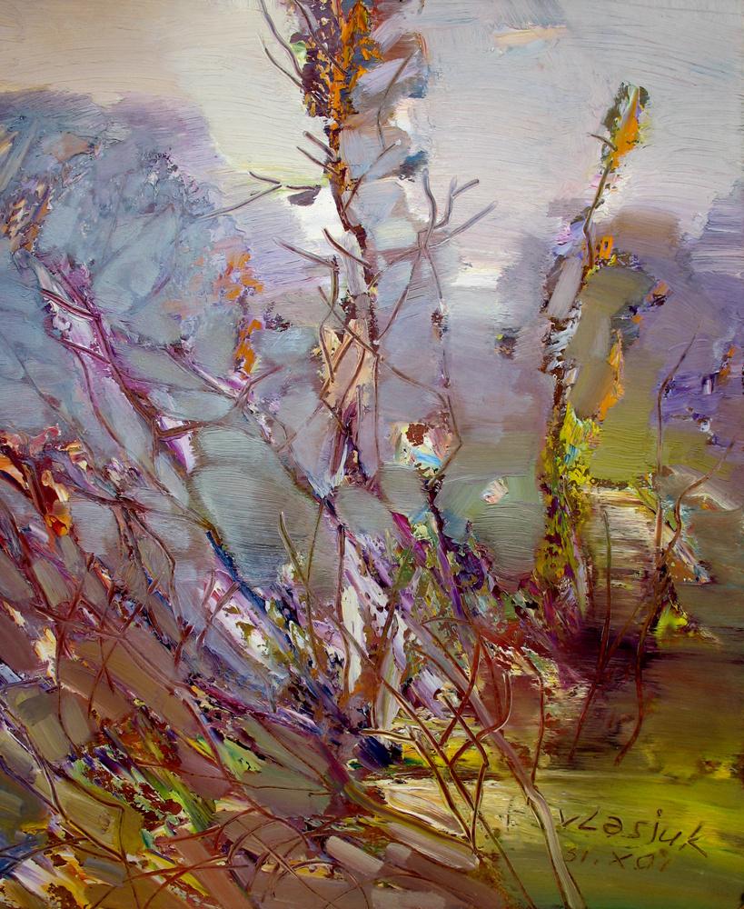 Alexander Ivanovich Vlasyuk. 282-2001 ...autumn grass...