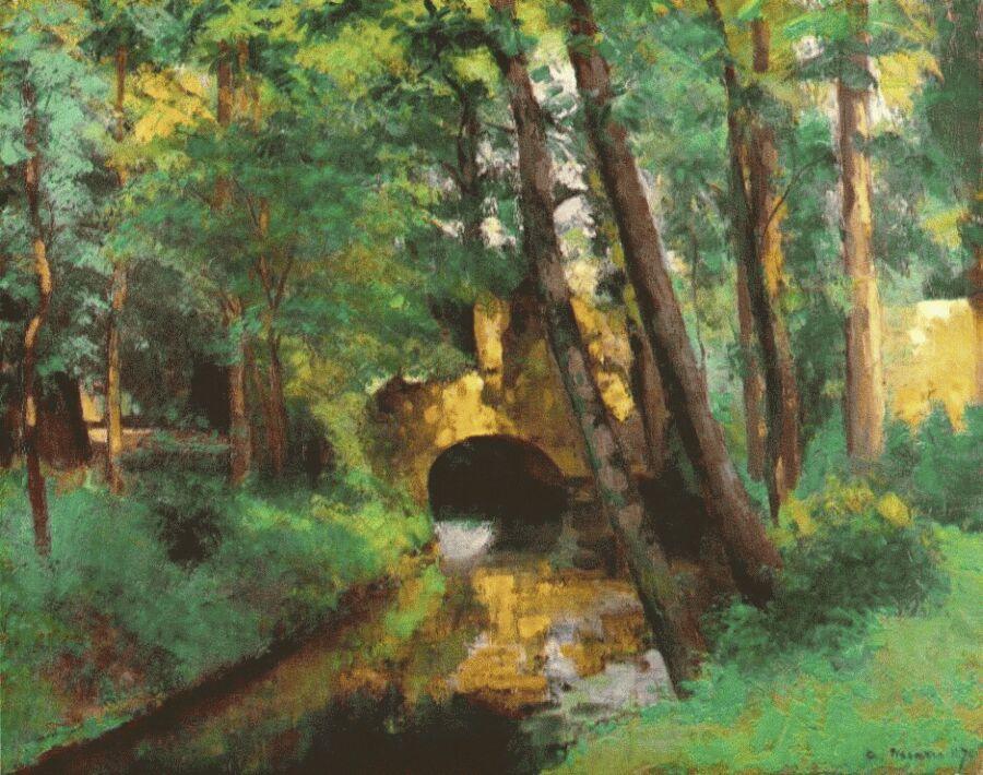 Камиль Писсарро. Маленький мост. Понтуаз