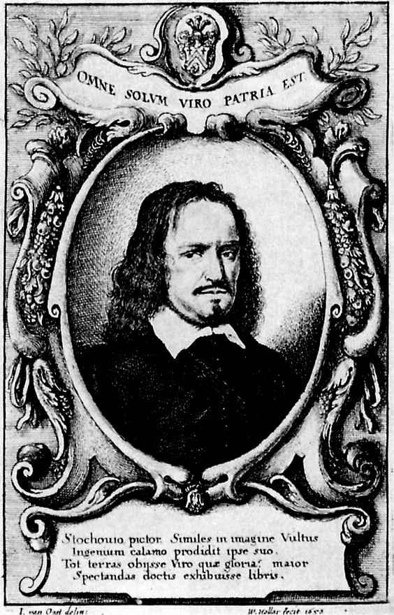 Венцель Холлар. Портрет Винсента де Стохове