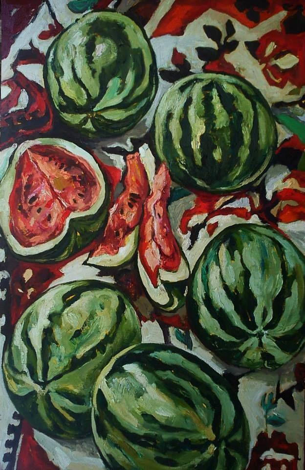 Alexandra Sirbu. Watermelons