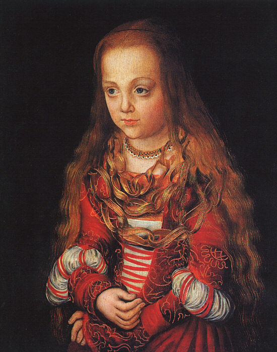 Лукас Кранах Старший. Принцесса Саксонии