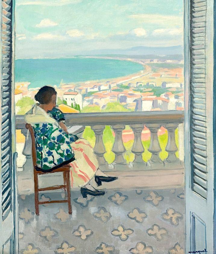 Albert Marquet. Reading Madame albert Marquet
