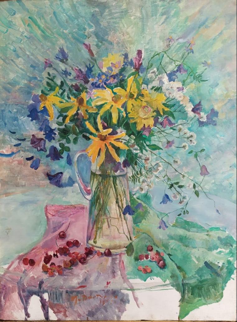 Maria Markovna Dzhagupova. Bouquet