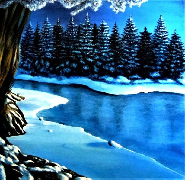 Alex Visiroff. Winter morning