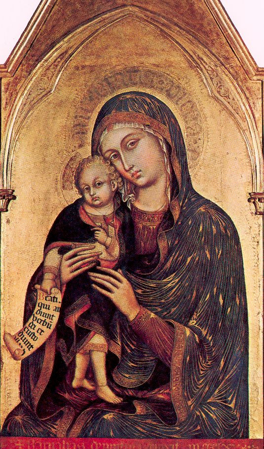Модена, Барнаба да Мона. Мадонна с младенцем
