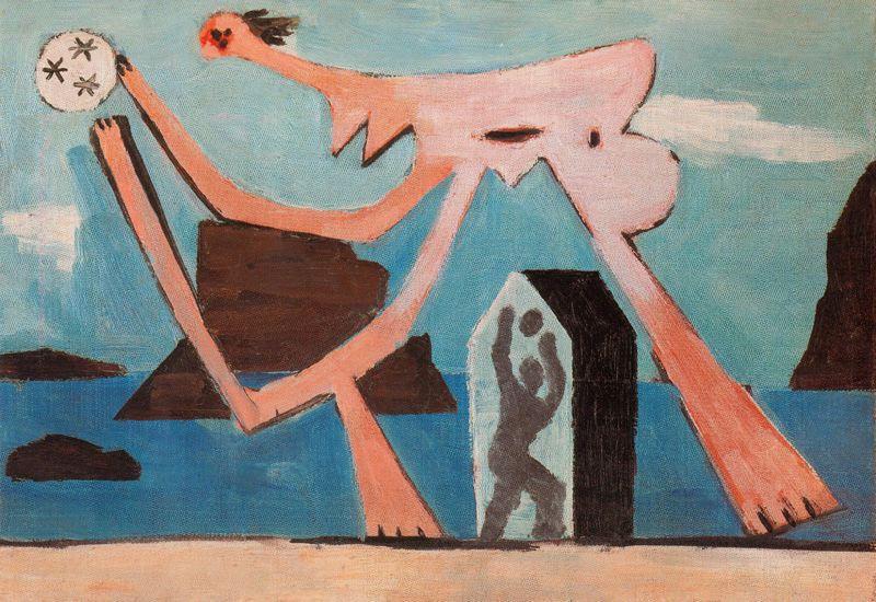 Пабло Пикассо. Купальщицы с мячом на пляже