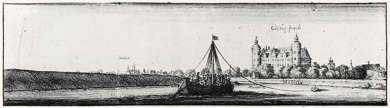 Венцель Холлар. Замок