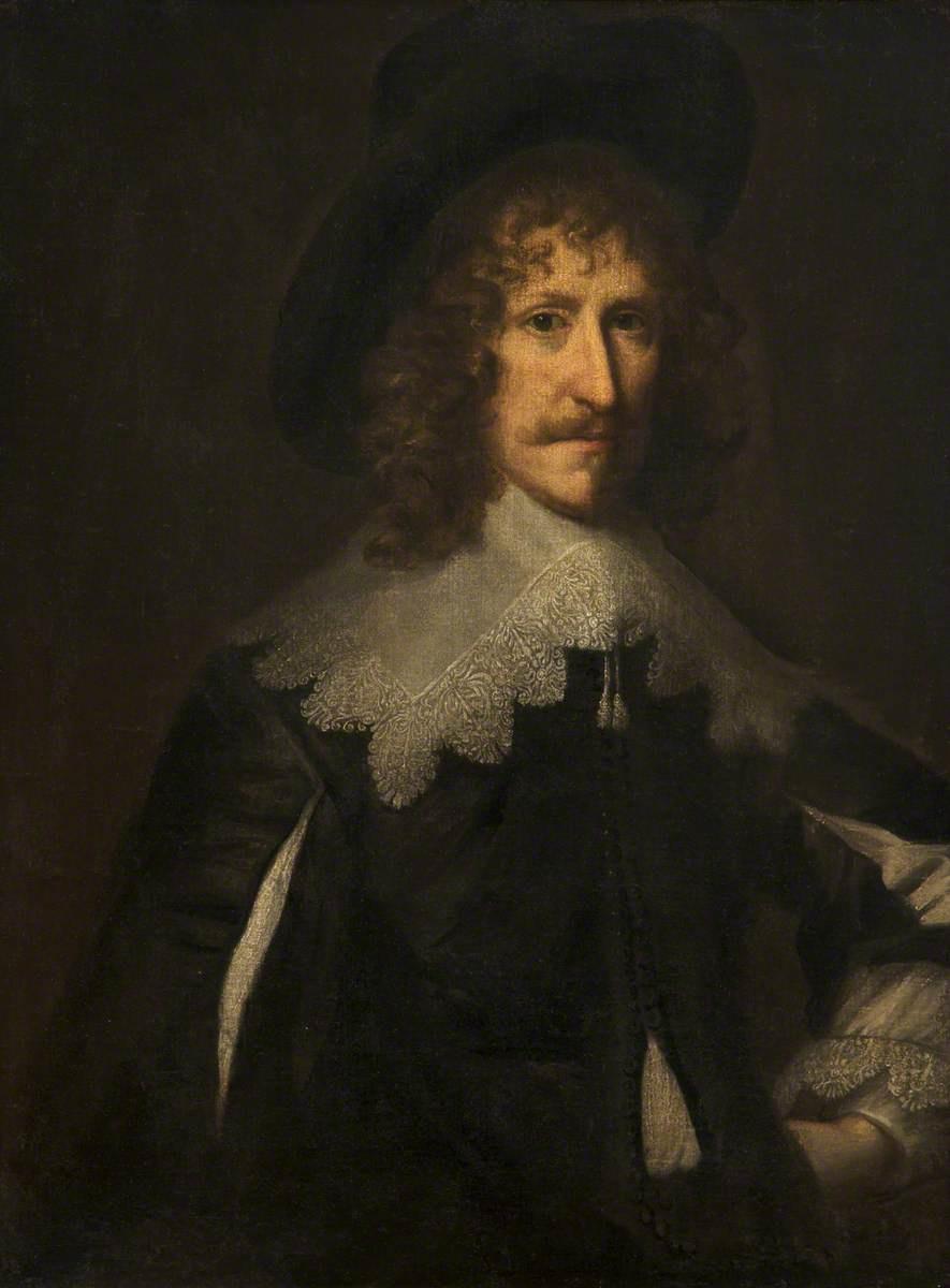Anthony van Dyck. Portrait of an unknown gentleman