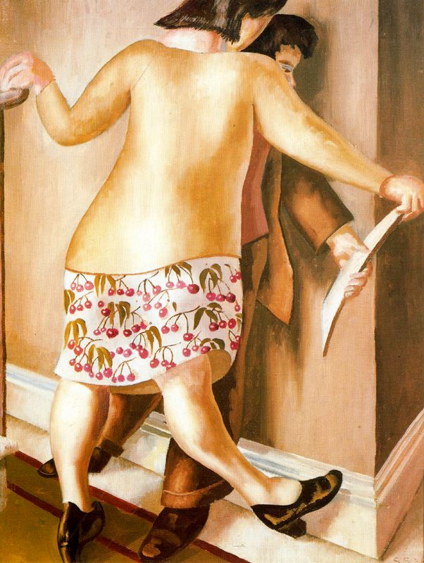 Stanley Spencer. Near the wall