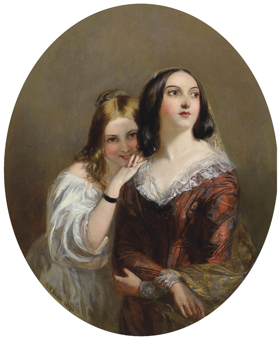 Beehives Powell Fright Great Britain 1819-1909. Sisters. Private collection