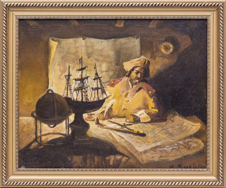 Oleg Nikolaevich Mikhailov. Peter I for the cards