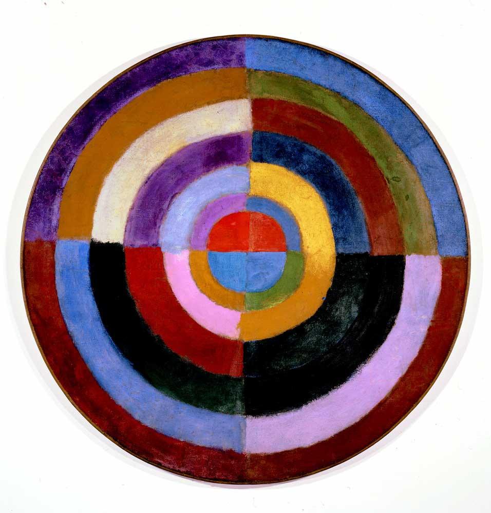 Robert Delaunay. Synchronous drive