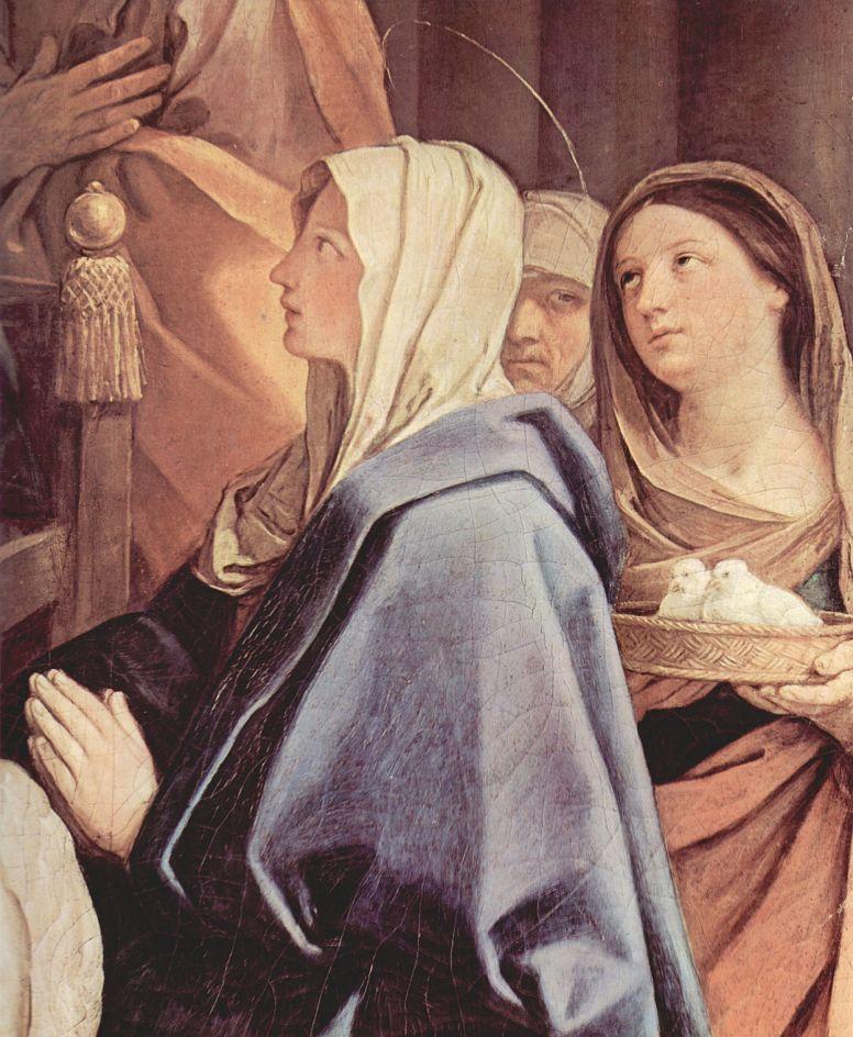 Гвидо Рени. Обрезание Христа, деталь