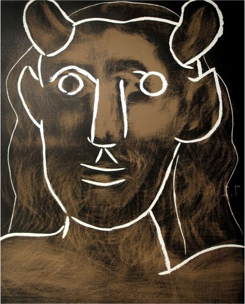 Пабло Пикассо. Голова Фавна