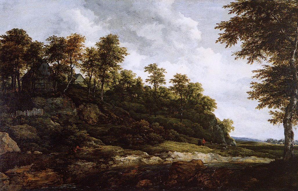 Саломон ван Рёйсдал. Холмистый пейзаж
