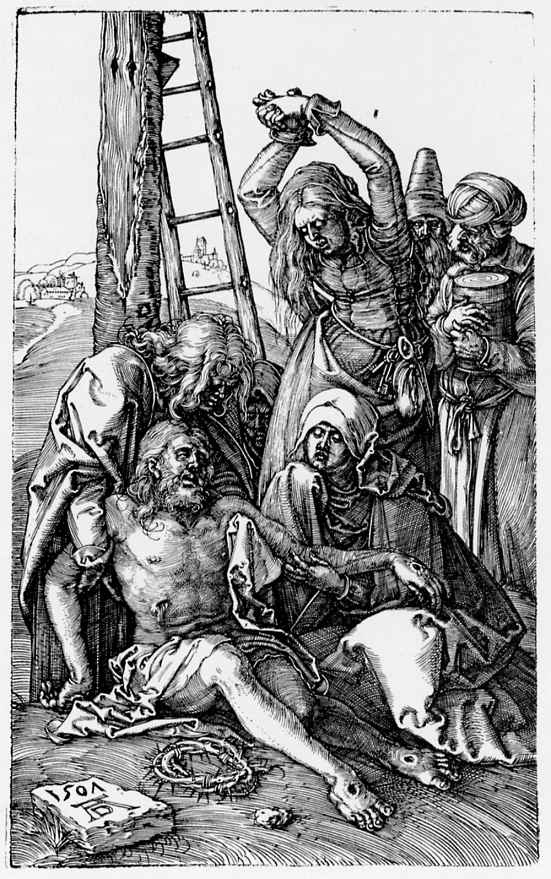 Альбрехт Дюрер. Оплакивание Христа