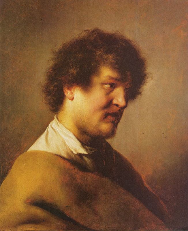 Ян Ливенс. Портрет молодого мужчины