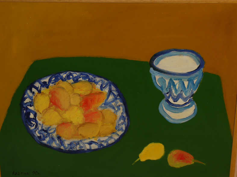 """Avetik Sergeevich Abadzhyan. """"Still life with pears"""""""