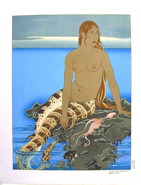 Поль Жакуле. Грустная русалка