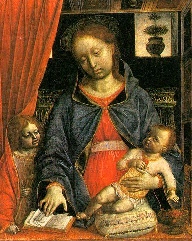 Винченцо Фоппа. Дева с младенцем
