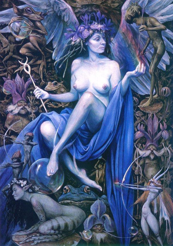 Брайан Фруд. Обнаженная фея