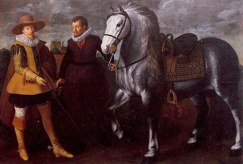 Адриан ван Ньюланд І. Жеребец
