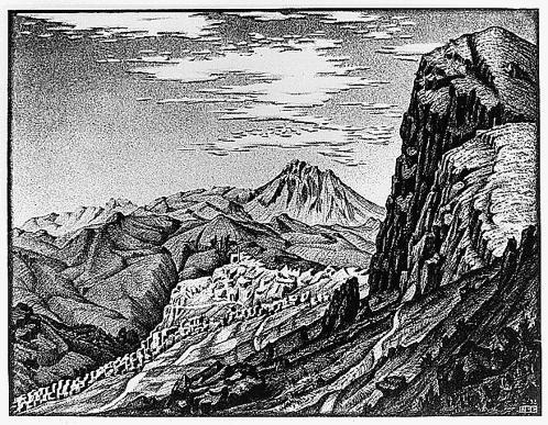 Мауриц Корнелис Эшер. Горы