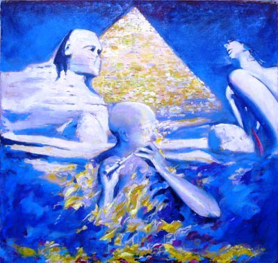 Valery Viktorovich Shechkin. Flute pyramids