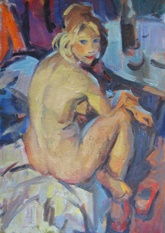 Lev Aleksandrovich Rusov. Nude