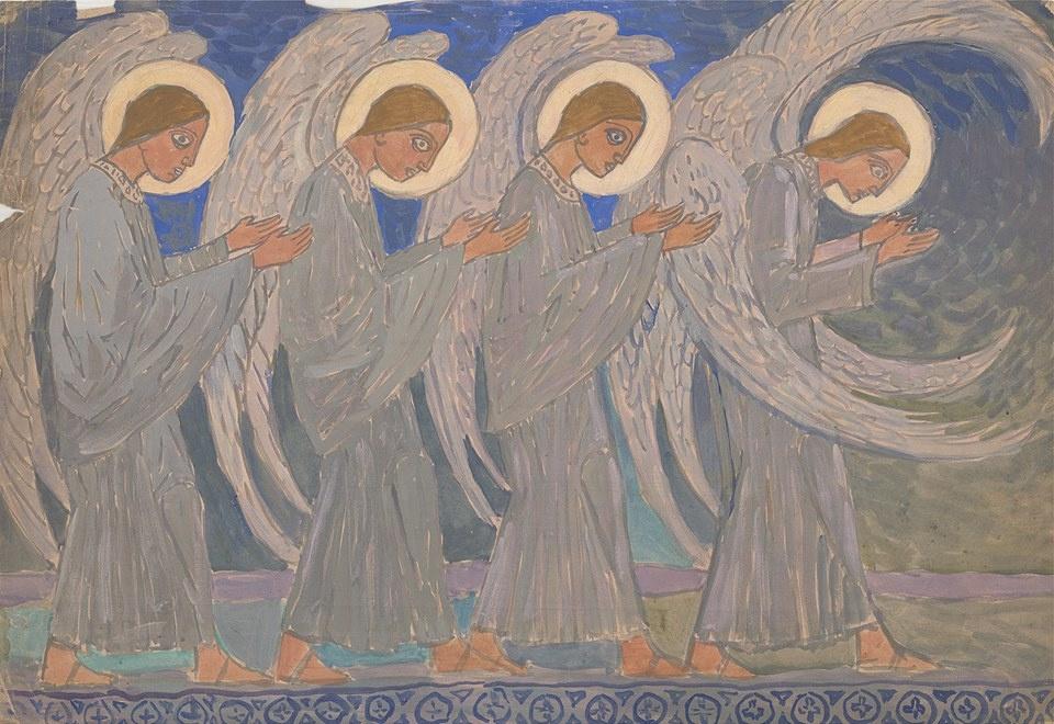 Boris Vasilyevich Smirnov. Angels