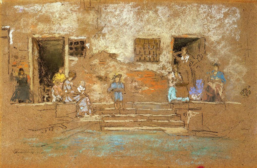James Abbot McNeill Whistler. Steps
