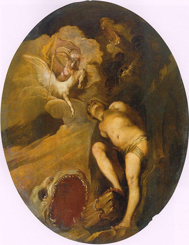 Франческо Маффеи. Персей освобождает Андромеду