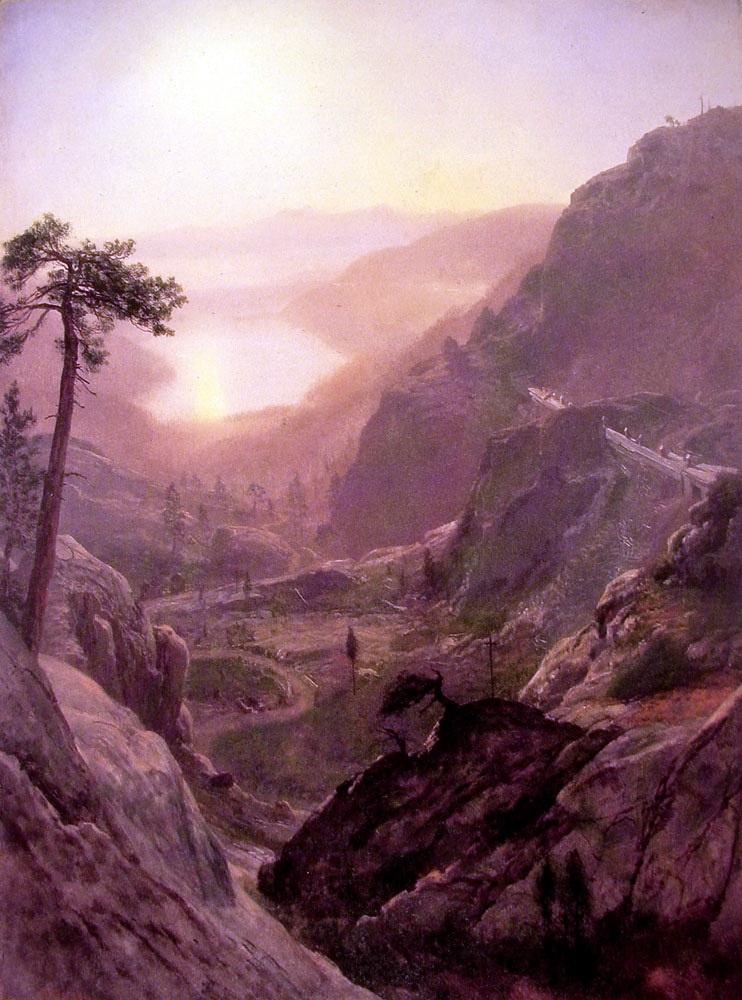 Альберт Бирштадт. Вид на озеро Доннер