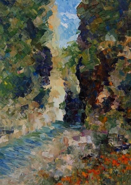 Larissa Lukaneva. The Gorge Of Samaria