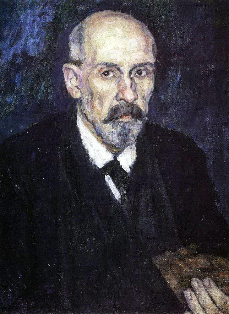 Василий Иванович Суриков. Человек с больной рукой