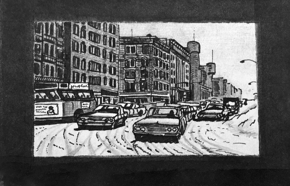 Zhmurko.AC. Snowfall in New York