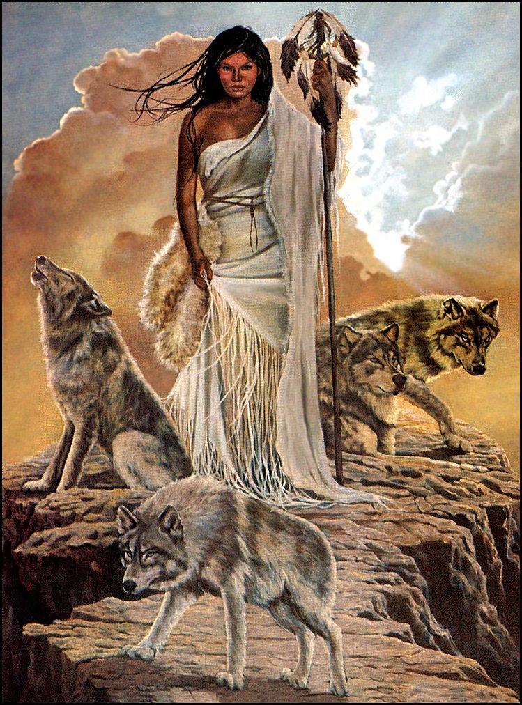 Пенни Энн Кросс. Девушка и три волка