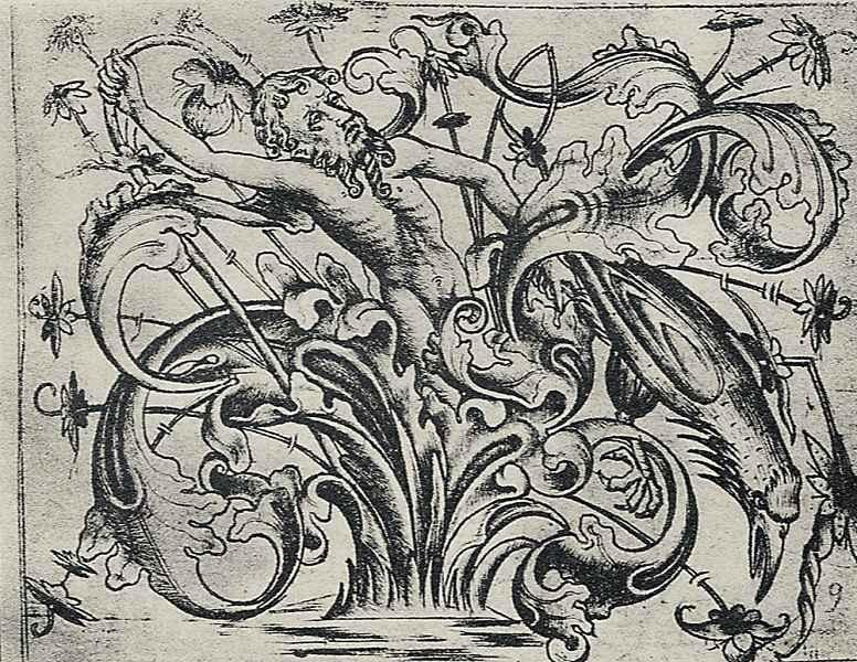 Израэль ван Мекенем Старший. Орнамент