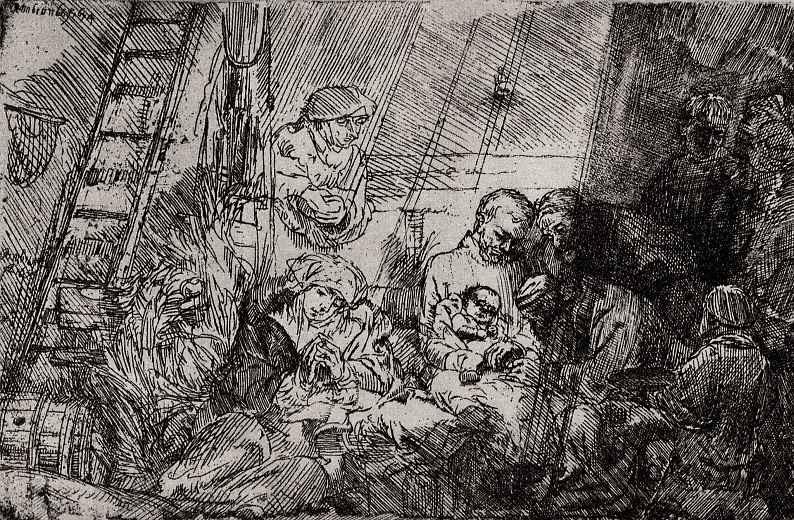 Рембрандт Харменс ван Рейн. Обрезание младенца Христа