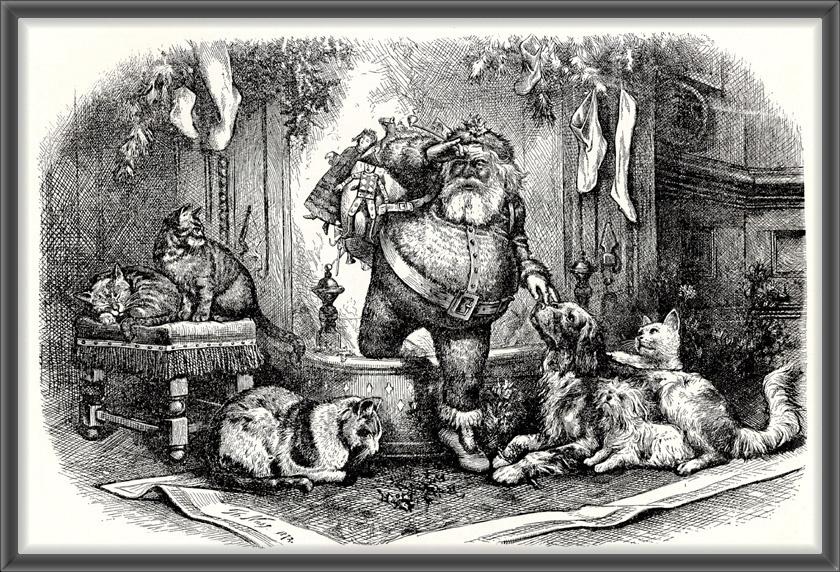 Томас Наст. Приход Деда Мороза